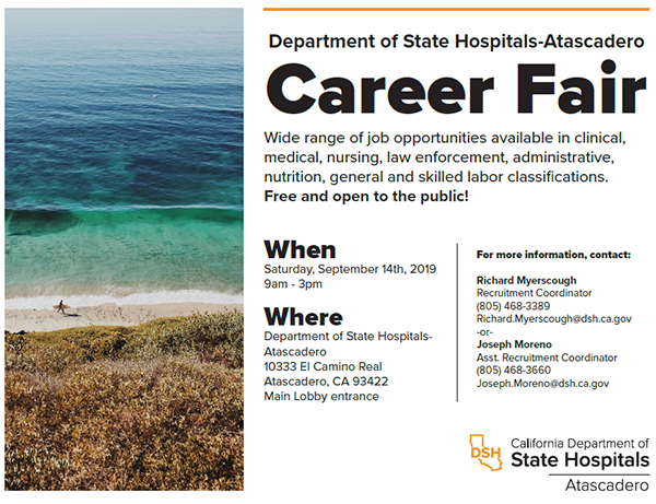 Atascadero Career Fair 2019